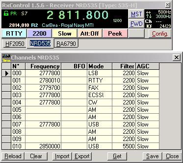 NRD-535 RA-6790 RA-1792 TRC-243 TRC241 TRC294 T264 HF-2050 Remote