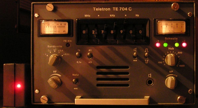 TE-704C Teletron HF receiver Tone Converter